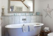 Bathrooms / Ideas for the perfect bathroom in a country cottage