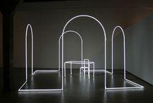 Installation art | light