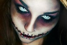 Halloween makeup / Special effects makeup, and costume ideas