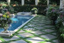 Dreamy Backyard Oasis / Inspiration to find your own backyard oasis.