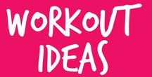 WORKOUTS. / Ideas for choreography and exercises...