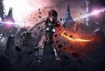 Mass Effect Game Art