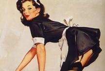 Classic/Vintage Pin-up Girls Art