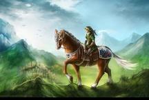 The Legend of Zelda Game Art