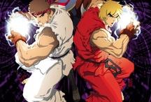 Street Fighter Game Art
