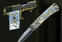 Engraved Guns & Knives