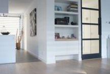 Project Prinsenbeek / Betonlook antraciet 60 x 60 cm