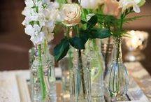 decorando con flores la casa / sencillamente y con personalidad / by lucia romani