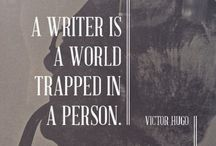 Quotes for Writers / When you just need that pick-me-up from others who have traveled the long road of words.