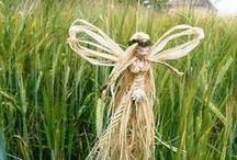 Positively Pagan Litha & Lammas Crafts / Lammas craft ideas.