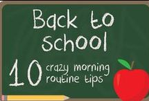 Back to School / This Back to School board will give you lots of ideas and tips in order to prepare your children' first day of school.