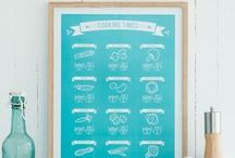 KITCHEN - prints / Follygraph posters and prints for kitchen walls