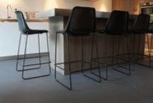 MoreFloors vloeren - Breda Semi-Granito vloer geleverd / Semi-Granito vloer geleverd bij tevreden klant te Breda. Zeer slijtvast en onderhoudsvriendelijk.
