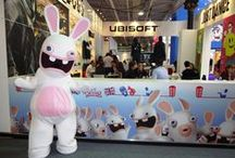 BRAND MASCOTS: Gaming / Brand Mascots manufactured by Rainbow Productions for the Gaming Sector.