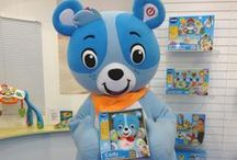 BRAND MASCOTS: Toys / Brand Mascots manufactured by Rainbow Productions for the Toy Industry.