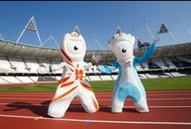 SPORTS MASCOTS: Olympics / Sports Mascots manufactured by Rainbow Productions for Olympic Games and Olympic Committees.