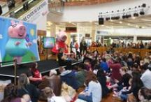 LICENSED CHILDREN'S CHARACTERS: Mini Shows & Activities / Mini Shows & experiential activities available to book through the UK's official supplier Rainbow Productions.
