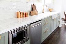 KITCHEN ACCESSORIES + DESIGN / Pretty kitchen wares, inspiring kitchen designs, and must-have kitchen tools.
