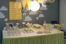 The Sweetest Little Event / Baby shower and First Birthday ideas