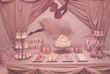 Pretty Parties: Princess, etc / Princess party, ballerina, fairy and pink party ideas.