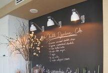 KITCHEN - chalkboard / interior design ideas for kitchen - chalkboard