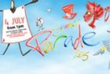 Summer Parade 2015 / Come and line the route and experience an unforgettable event for the South Tyneside Summer Parade!  Saturday 4 July, 1pm - 4pm.  South Shields Town Hall to Bents Park.   www.visitsouthtyneside.co.uk