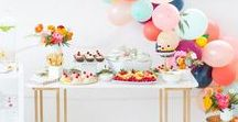 party ideas / Super fun party decor ideas to make you the hostess with the mostest!