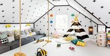 inspiring interiors | kids rooms / Fresh + modern looks for boys, girls and babies.
