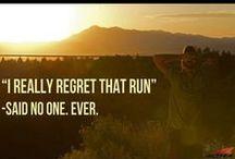 Puolimaraton ja maraton / Inspiration for half marathons and marathons