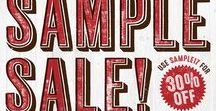 """SALE! Use code SAMPLE17 for 30% off / While cleaning out our storage we've found several boxes of products and samples we didn't realize we had, so we are selling everything in our online store for 30% off!  Use the code SAMPLE17 for your 30% discount. If you are a Nashville resident, you can save on shipping by selecting """"local pickup"""" and give us a call to confirm a time and location."""