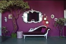 ! C~ ❥ Purple Home Love ❥ / Homes & Home Decor in Purple... #Purple #Homes #Purple #Decor  / by Kat .