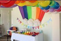 Rainbow Themed Birthday Ideas