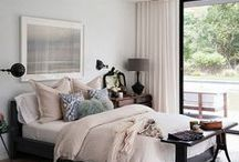 Bedrooms / by Debbie Zimmer