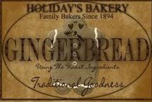 Gingerbread / by Colleen Jorundson