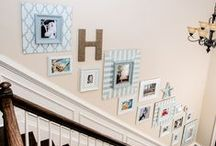 ! D~ Wall Inspirations / Walls and pictures and frames and ...