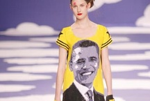Obama On The Catwalk / Let's Barack The Vote folks! Today is the day and our vote is OFFICIALLY IN! 