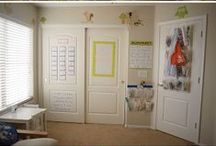 Homeschool Rooms & Ideas / Organization, Homeschool Room Layouts, Neat Ideas & more / by Stacey Howell