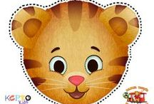 Daniel Tiger Themed Party Ideas
