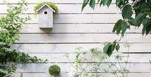 Garten Ideen / Ideen für den Garten, Blumenbeete, Sitzgelegenheiten, gartendekoration,