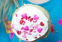 Valentines Day Food / Sweet and savory recipe ideas for Valentines Day.