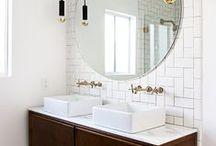 bathrooms / by maddy landis-croft