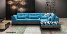 ΣΑΛΟΝΙΑ / Καναπέδες κατασκευασμένοι σύμφωνα με τις ανάγκες του χώρου σε διαστάσεις και υφάσματα επιλογής σας.