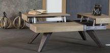 Τραπέζι σαλονιού / Τραπεζάκια σαλονιού σε ξύλο και απόχρωση που επιθυμείτε