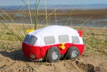 loving it! / Surf Van knitting kit from www.thelittleknitkitcompany.co.uk