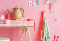 KIDS ROOM I Girly Mint & Pink