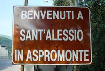 Sant'Alessio in Aspromonte - Calabria / Sant'Alessio in Aspromonte is een bergdorp in de provincie Calabria, Italië. Hoofdstad Reggio di Calabria, wintersportplaats Gambarie en het pittoreske vissersdorpje Scilla liggen dichtbij. Per boot zijn Sicilië en de Eolische eilanden bereikbaar.