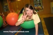 Kids Yoga Games / Kids Yoga Games and Activities from Young Yoga Masters and other great ideas