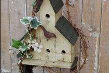 Crafts OutDoor-Birdhouse / by Julia