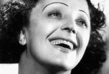 Edith Piaf - 50ème anniversaire de sa disparition  / Les plus belles images de la vie d'Edith Piaf / by Editions Montparnasse