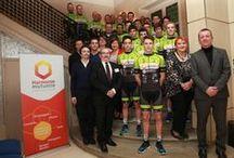 Présentation du Team AC-TOURAINE 2015 / Présentation du Team Avenir Cycliste Touraine dans les locaux d'Harmonie mutuelle à Tours - 16 février 2015
